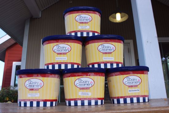 Picture of 6 Half Gallons of ice cream (Shipment Only)