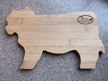 Picture of UDairy Creamery Cow Shaped Cheese Board